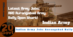 Latest Army Jobs_ ARO Aurangabad Army Rally Open Bharti-1200x660
